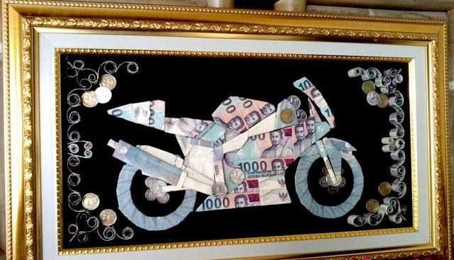 Hasil gambar untuk mahar uang kertas